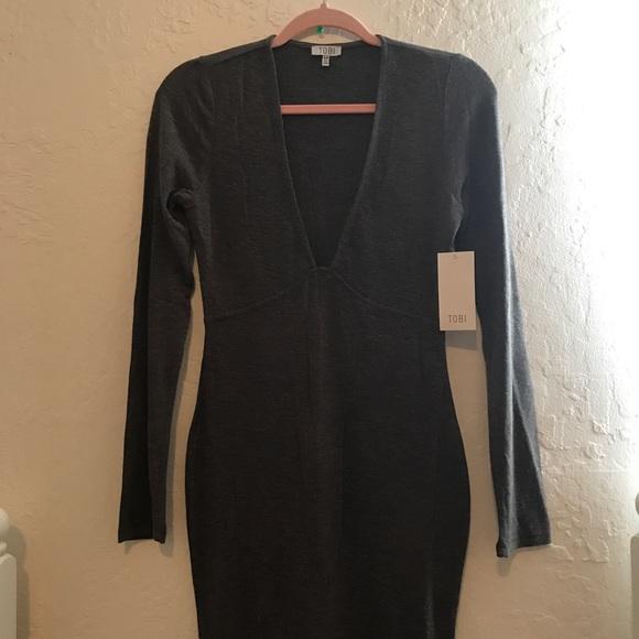 Tobi Dresses & Skirts - Grey Tobi Dress